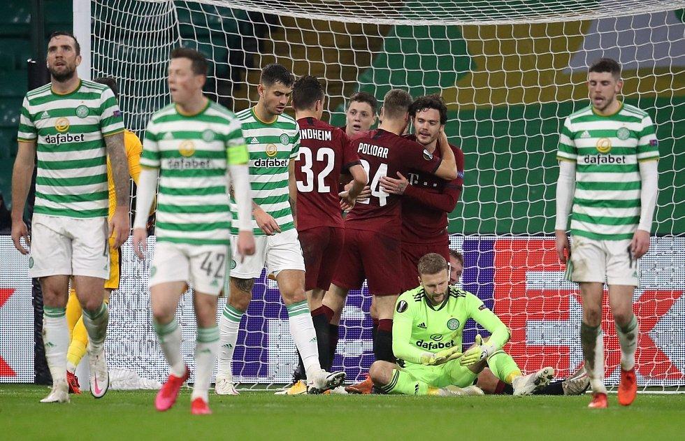 Fotbalový zápas Celtic vs. Sparta Praha