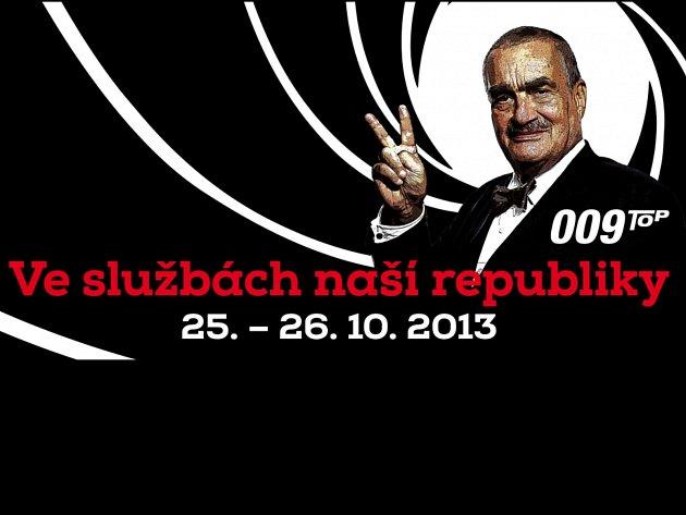 TOP 09 jde do kampaně s předsedou Schwarzenbergem v roli James Bonda.