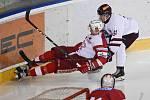 Přípravný zápas mezi hokejovou Slavii a Spartou