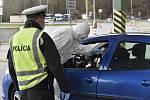 Kontroly na hranicích se Slovenskem. Ilustrační snímek