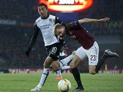 Sparta - Krasnodar: Ladislav Krejčí a Odil Achmedov