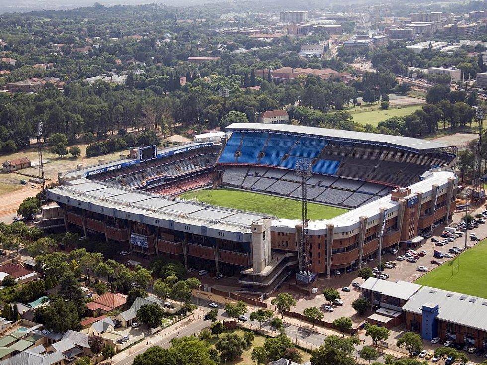 Loftus Versfeld Stadium – Pretoria. Kapacita: 49 365.