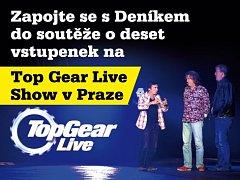Zapojte se s regionálním Deníkem do soutěže  o deset vstupenek na Top Gear Live Show v Praze