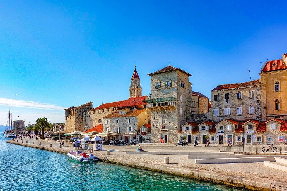 Dovolená, Chorvatsko, Trogir.