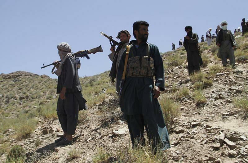 Bojovníci hnutí Tálibán.