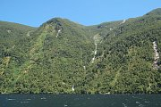 Browneho vodopád na Novém Zélandu