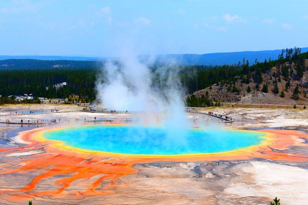 Yellowstonský supervulkán - Ilustrační foto