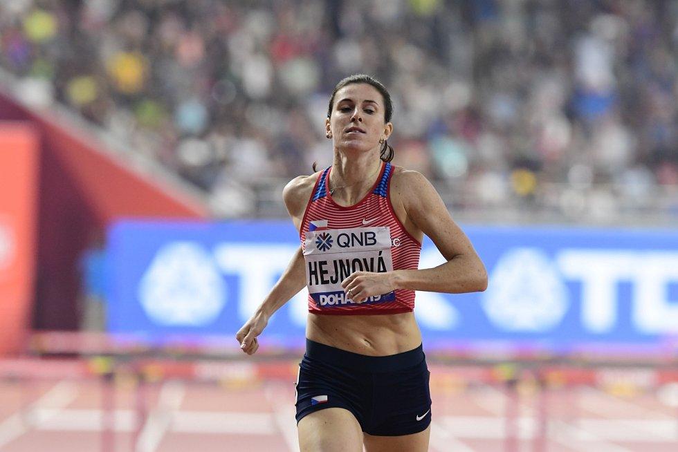 Zuzana Hejnová skončila ve finálovém běhu na 400 metrů překážek pátá