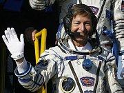 V hlavní roli kosmonautky.