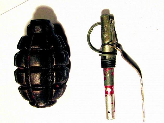 Předměty, které byly nalezeny u polského atentátníka