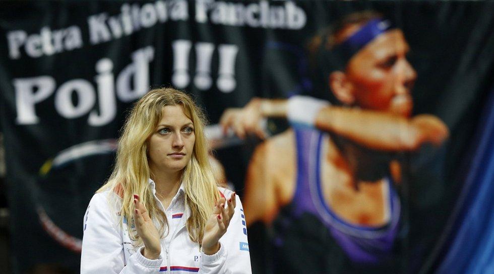 Finále Fed cup, ČR vs. Německo - Petra Kvitová