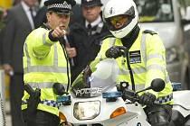 Britská policie. Ilustrační snímek