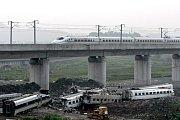 Kolize dvou vysokorychlostních vlaků v roce 2011