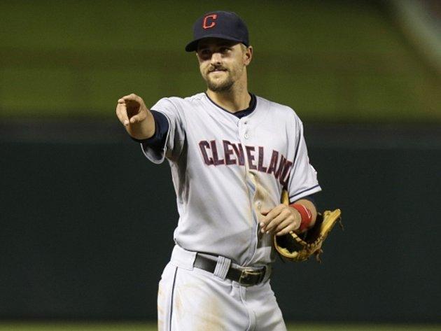 Baseballista Clevelandu Lonnie Chisenhall zazářil v jednom utkání třemi homeruny.