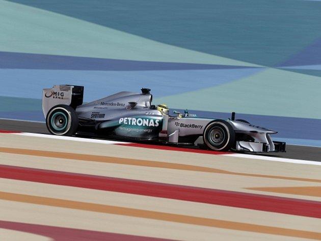 Nico Rosberg v kvalifikaci na VC Bahrajnu.