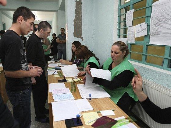 Parlamentní volby v Gruzii