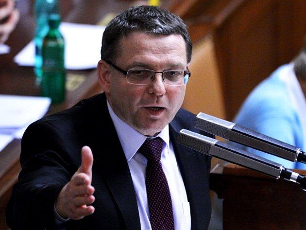 Místopředseda ČSSD Lubomír Zaorálek.