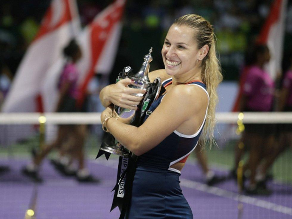 Dominika Cibulková vyhrála Turnaj mistryň.