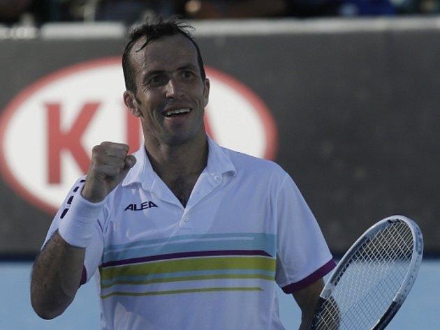 Radek Štěpánek na Australian Open.