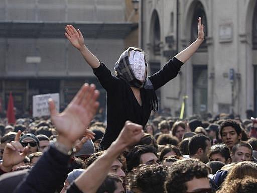 V Římě demonstrovaly desetitisíce lidí