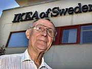 Švéd Ingvard Kamprad, zakladatel řetězce obchodních domů IKEA
