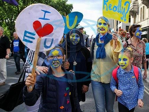 """""""Miluji Evropskou unii."""""""