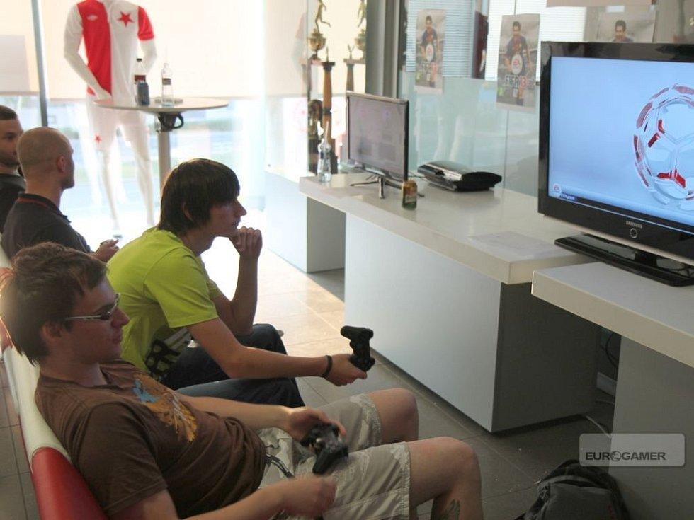 Prezentace počítačové hry FIFA 13.