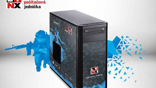 Herní počítač Lynx Grunex ProGamer 3G 2017.