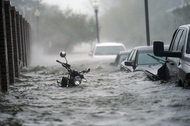 Hurikán Sally ze snímku NASA.