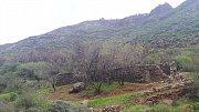 Gran Canaria. Pozůstatky po tradičním zemědělství.