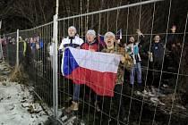 Závod Světového poháru v biatlonu - sprint mužů na 10 km, 6. března 2020 v Novém Městě na Moravě. Několik desítek fanoušků si našlo místo nedaleko závodních tratí. Kvůli riziku šíření nového typu koronaviru se závod jel bez diváků.