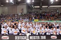 Hokejisté Mnichova slaví titul