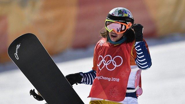 Eva Samková po vydařené jízdě.