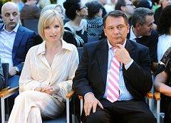 Jiří Paroubek a jeho bývalá žena Petra.