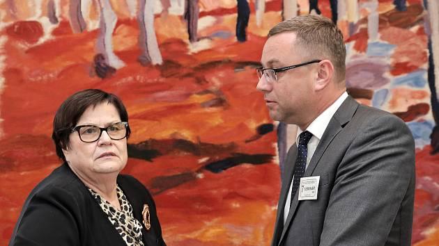Marie Benešová a Pavel Zeman.