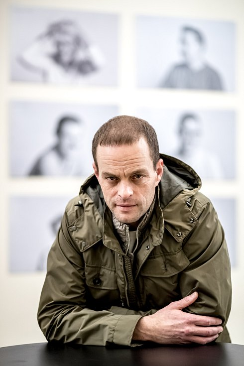 Herec Jan Teplý mladší.