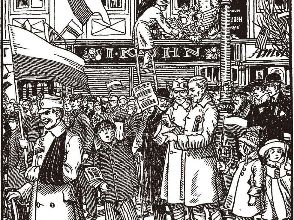 28. říjen 1918. Očima současníka.