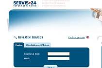 Přístup k internetovému banovnictví České spořitelny