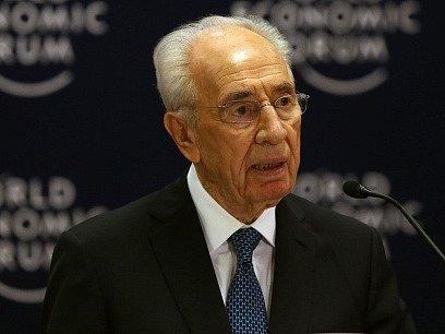 Bývalý izraelský premiér a prezident Šimon Peres.