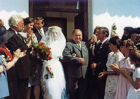 Ze svatby s Blaženou Škopkovou sešlo.