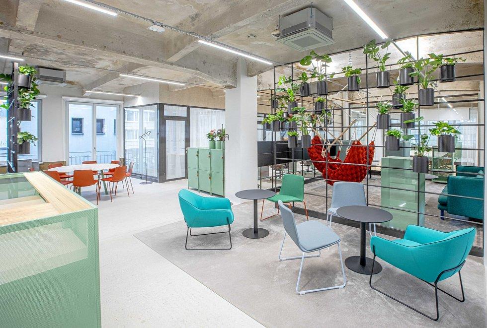 Sdílené kanceláře Telegraph Hub