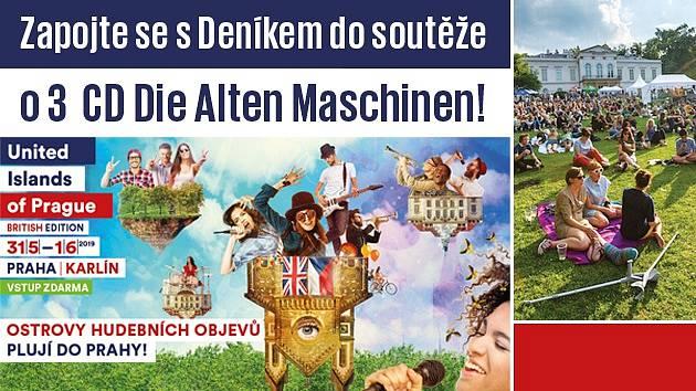 Soutěž s United Islands of Prague