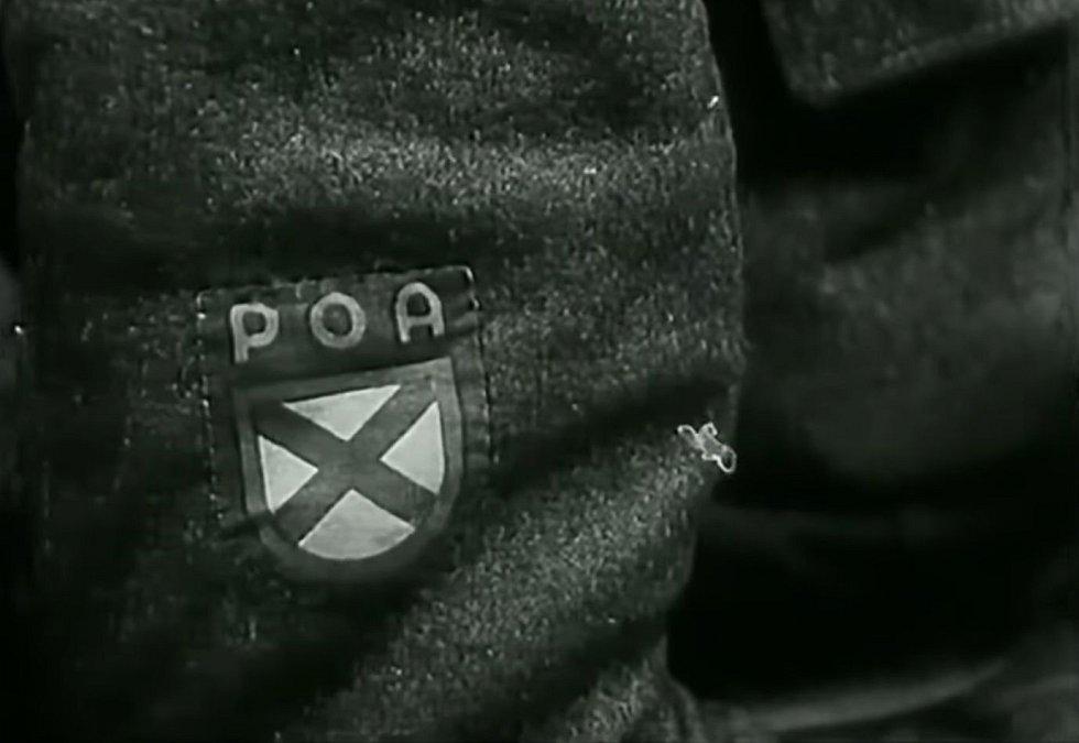 Odznak ROA neboli Ruské osvobozenecké armády, což byl oficiální název vlasovců