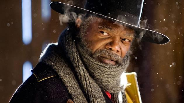 Samuel L. Jackson ve filmu Osm hrozných.
