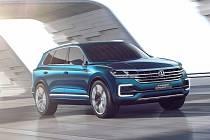 Koncept Volkswagen T-Prime GTE.