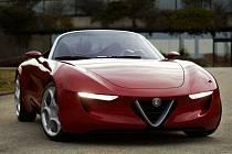 Koncept Alfa Romeo 2uettottanta.