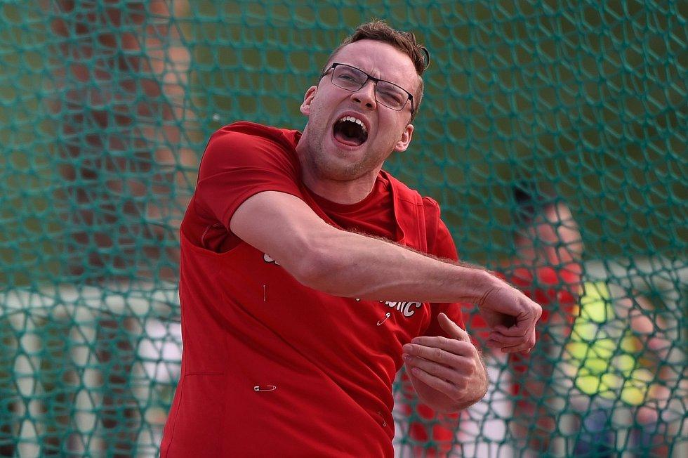 Martin Dvořák získal hned tři zlaté medaile