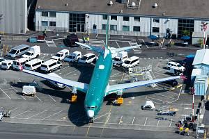 Boeing 737 MAX. Ilustrační snímek