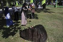 Pieta ve městě Banda Aceh v indonéské provincii Aceh, kde v mohutných vlnách přišlo o život na 125 tisíc lidí a zničeny byly celé vesnice