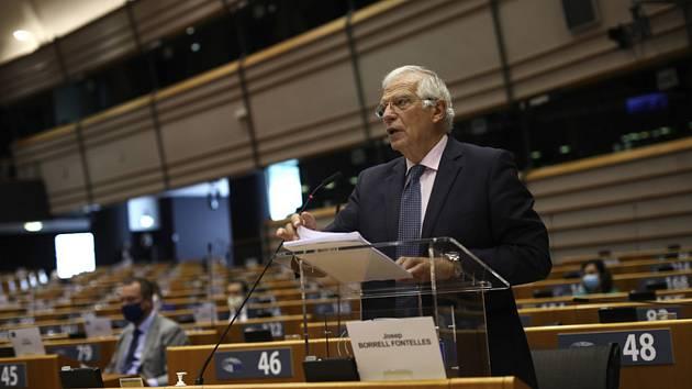 Šéf diplomacie EU Josep Borrell